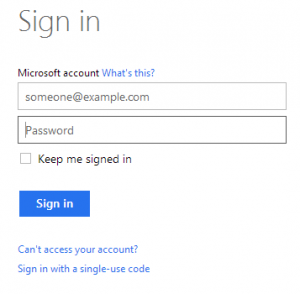 sign-in-hotmail