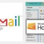 Diferencias entre Outlook y Gmail
